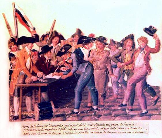 Levée en masse et Tribunal révolutionnaire