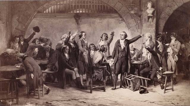 Arrestation des Girondins