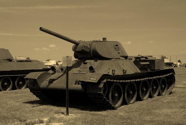 T 34 Tank (Mikhail Koshin), 1939