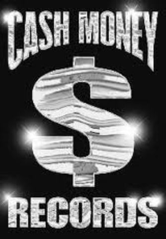 Signed with Cash Money Records