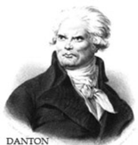 Danton reclama el fin del terror.