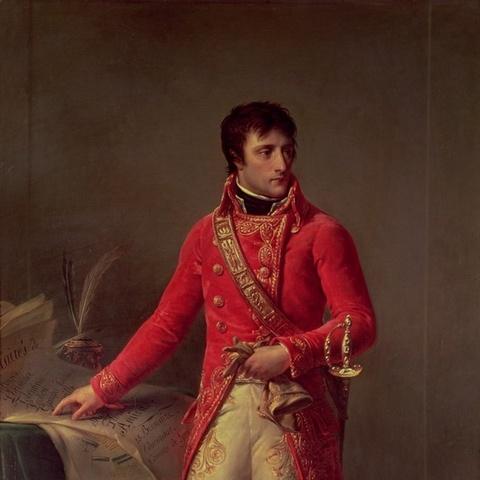 Napoleon regresa de Egipto.