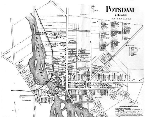 Born in Postdam, NY