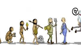 Principais artefatos tecnológicos produzidos pelo homem e a educação timeline