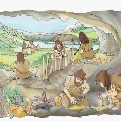 cambios en el paleolitico timeline