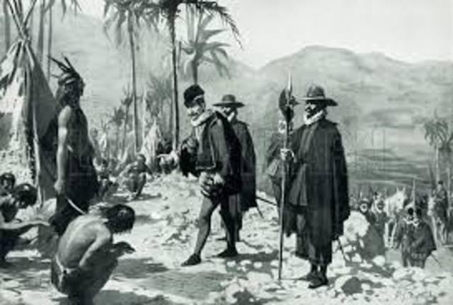 Conquista de México realizada por Hernán Cortés