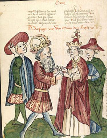 Couronnement de Otton Ier Saint Empire romain germanique : le nouveau Charlemagne ?
