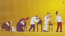 Evolución de la ciencia y el conocimiento científico timeline