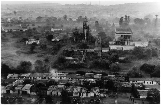 Bhopal chemical toxic cloud