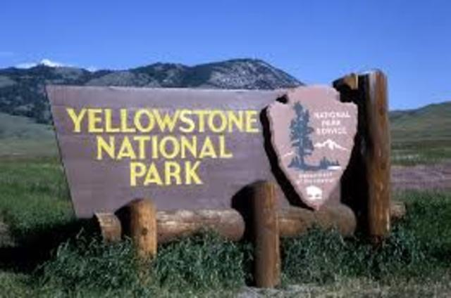 Yellowstone Park founded