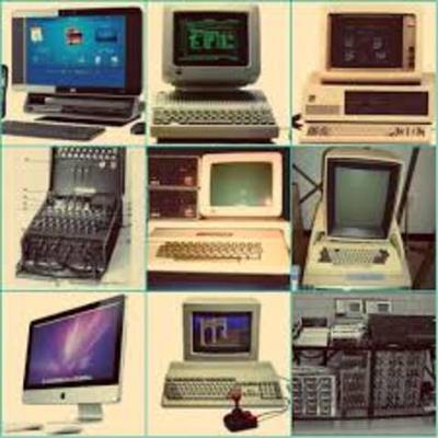 HISTORIA DE LAS COMPUTADORA timeline