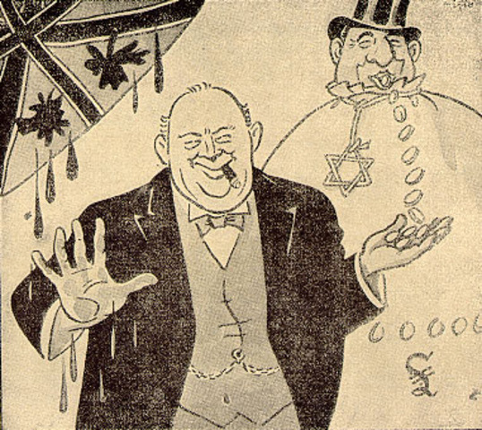 Nazi Cartoons on the Outbreak of War