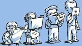 EVOLUÇÃO DA TECNOLOGIA E EDUCAÇÃO timeline