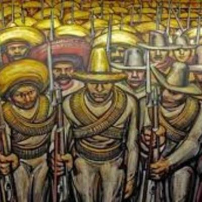 El Porfiriato y la Revolución timeline