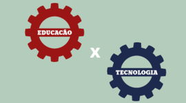 TECNOLOGIA X EDUCAÇÃO timeline