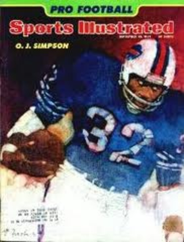 O.J. is Named Man of the Year by Sport magazine