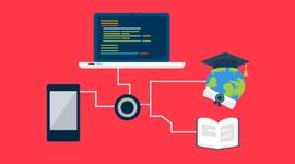 PRINCIPAIS AVANÇOS TECNOLÓGICOS RELACIONADOS À EDUCAÇÃO timeline