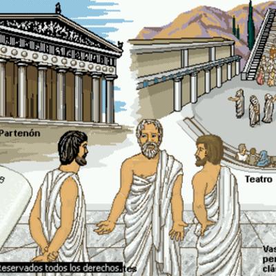 MATEMÁTICAS EN LA ANTIGUA GRECIA timeline