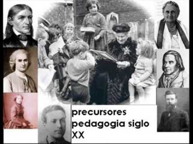 Pedagogía Contemporánea Siglo XX - autores