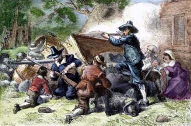 Bacon's Rebellion in Virginia