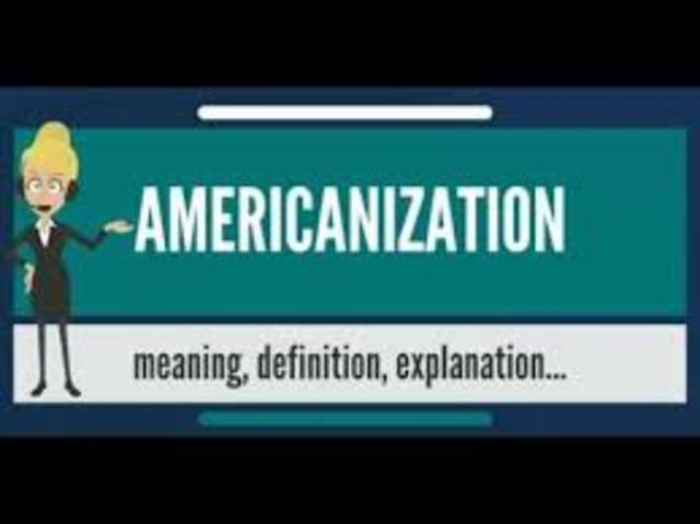 americanization movement definition