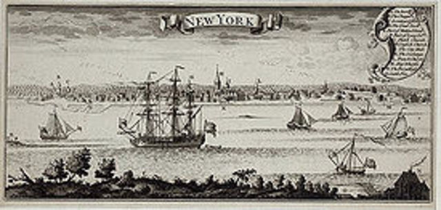 The English Captured New Amsterdam and Renamed it New York