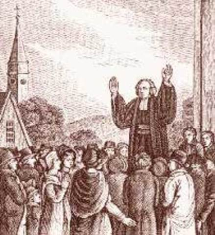 Beginning of the First Great Awakening