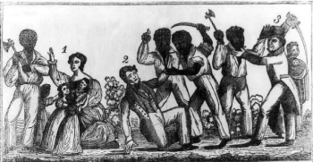 Stono Slave Rebellion in South Carolina