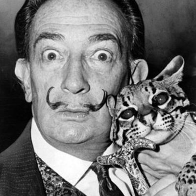 Salvador Dali & His Works timeline