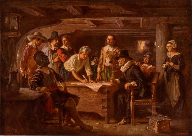 Mayflower/ Plymouth/ Mayflower compact