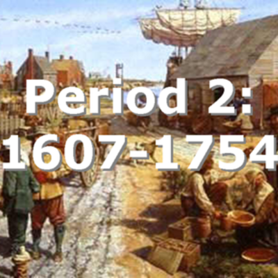 APUSH - Period 2 timeline