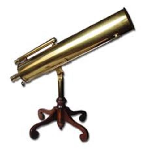 Primer telescopio reflector