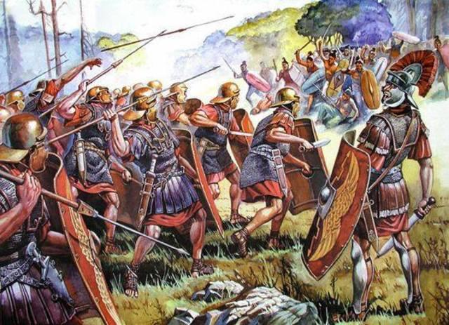 211 a. C derrota y muerte de Publio y Cneo Cornelio Escipión.