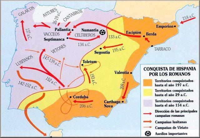 206 a. C. Conquista de Gades por parte de los romanos.