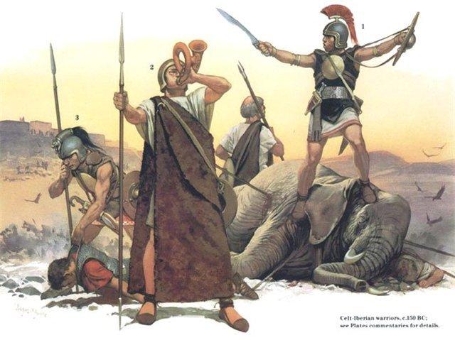 133 a .C . Final de las guerras celtiberias.