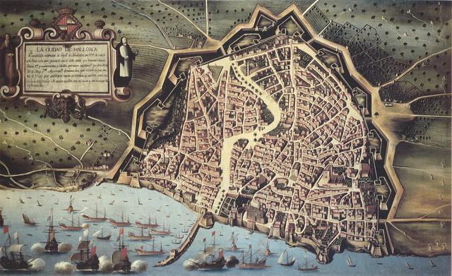 123 a.C. Los Romanos desembarcan en Mallorca.