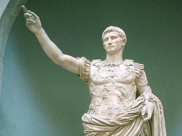 31 a.C. Inicio del reinado de Augusto.