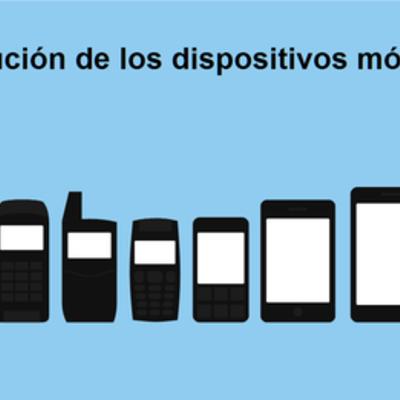 Evolución de los Dispositivos Móviles - Teléfono - A: Danny Vinueza timeline