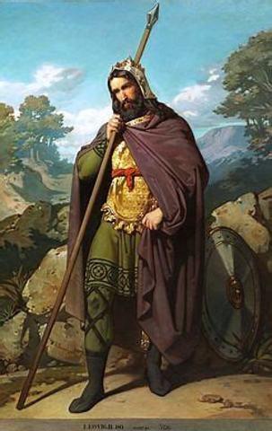 568 d.C. Inicio del reino Leovigildo.