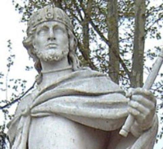 586 d.C. final del reino Leovigildo.