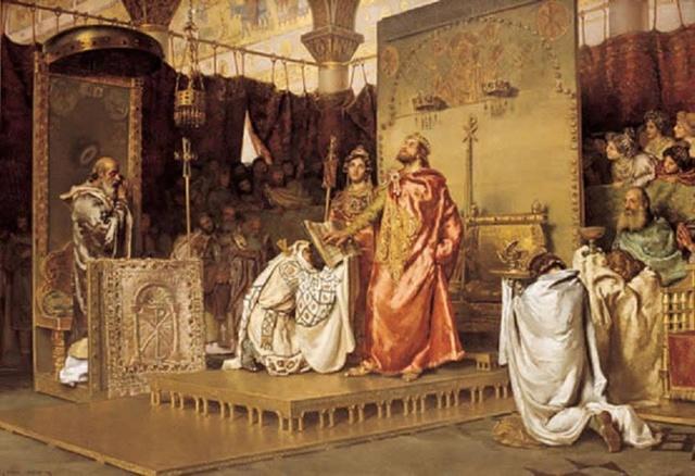 589 d.C. Conversión de Recaredo ( III concilio de Toledo).
