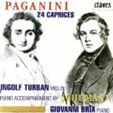 24 caprices / Nicolo Paganini