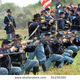 Stock photo vista california april american civil war is reenacted by union soldiers on 51230320 1