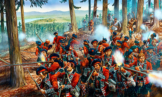 The start of the seven years war or aka the french and indian war