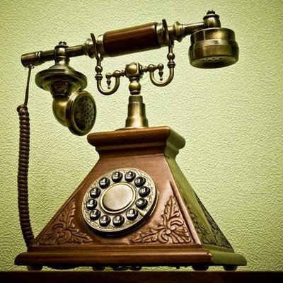 Телеграф, телефон timeline