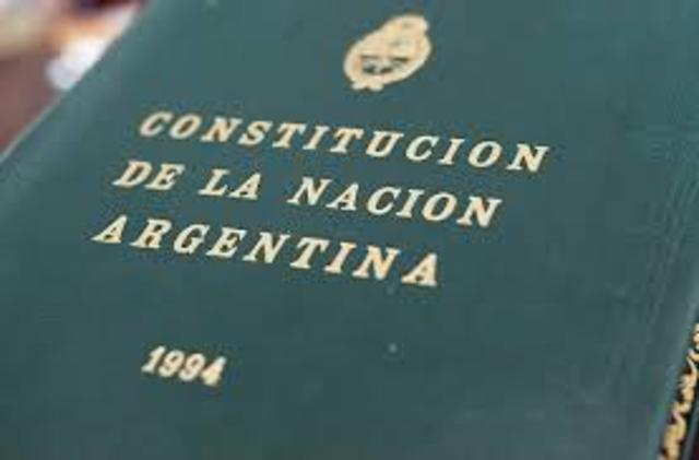 Constitución Nacional de la Nación Argentina