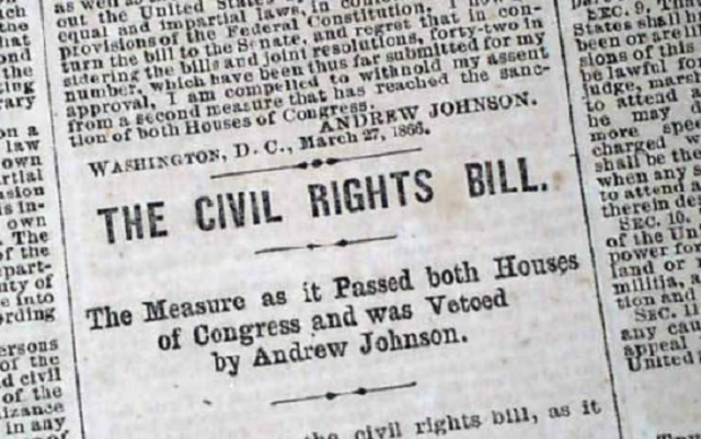 Civil Rights Bill of 1866