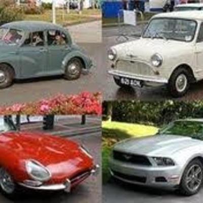 evolución de los automobiles AAAAY LMAOOO timeline