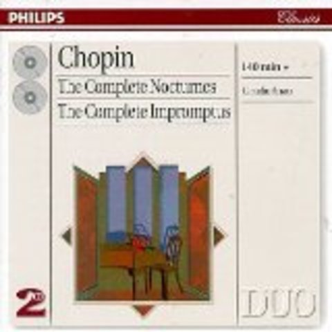 Complete nocturnes / Frédéric Chopin