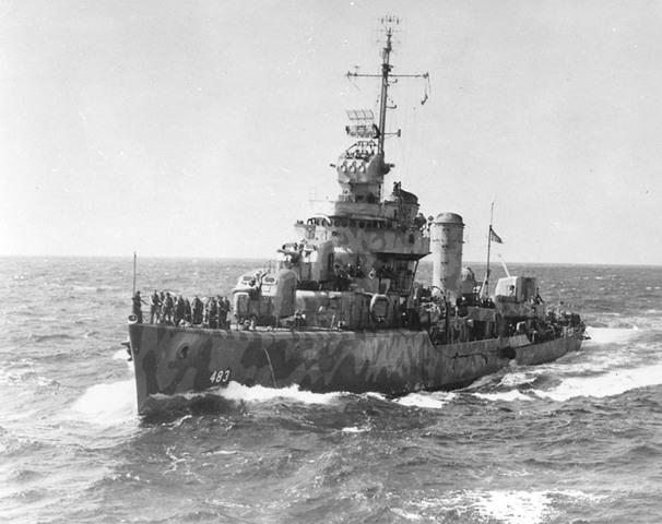 Sinking of the U.S.S Aaron Ward